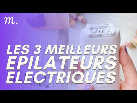 🥇TOP 3 EPILATEURS ELECTRIQUES (2021)