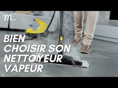 NETTOYEUR VAPEUR : Bien Choisir en 2021 ☁️ (Guide d'Achat Nettoyeur Vapeur en 60s.)   Maisonae