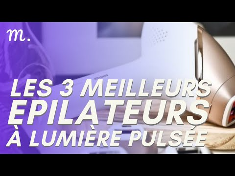 🥇TOP 3 EPILATEURS LUMIERE PULSEE (2021)