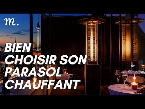 PARASOL CHAUFFANT : Bien Choisir en 2021 ⛱ (Guide d'Achat Chauffage Parasol en 60s.) | Maisonae