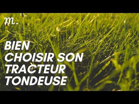 TRACTEUR TONDEUSE : Bien Choisir en 2021 🚜 (Guide d'Achat Tondeuse Autoportée en 60s.) | Maisonae