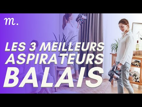 🥇TOP 3 ASPIRATEURS BALAIS (2021)