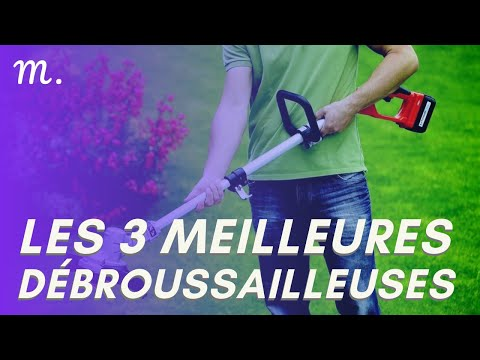🥇TOP 3 DEBROUSSAILLEUSES (2021)