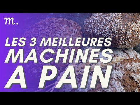 🥇TOP 3 MACHINES À PAIN (2021)