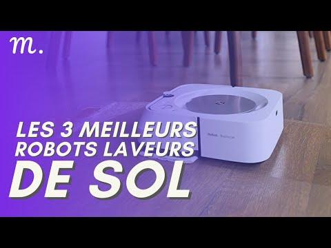 🥇TOP 3 ROBOTS LAVEURS DE SOL (2021)