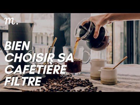 CAFETIÈRE FILTRE : Bien Choisir en 2021 ☕ (Guide d'Achat Cafetière Électrique 60s.) | Maisonae