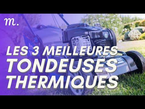 🥇TOP 3 TONDEUSES THERMIQUES (2021)