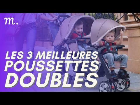 🥇TOP 3 POUSSETTES DOUBLES (2021)