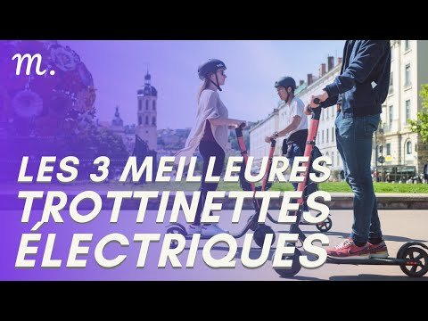 🥇TOP 3 TROTTINETTES ELECTRIQUES (2021)