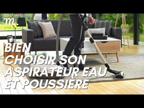 ASPIRATEUR EAU ET POUSSIÈRE : Bien Choisir en 2021 💧 (Guide d'Achat aspirateur en 60s.) | Maisonae