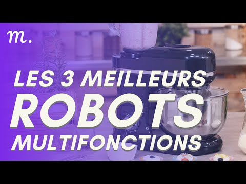 🥇TOP 3 ROBOTS MULTIFONCTIONS (2021)