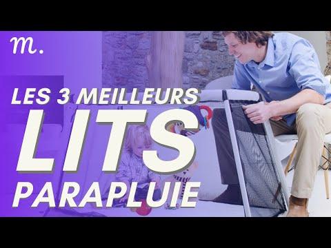 🥇TOP 3 LITS PARAPLUIE (2021)
