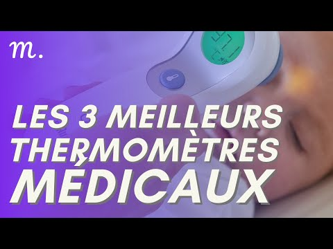 🥇TOP 3 THERMOMETRE MEDICAL (2021)