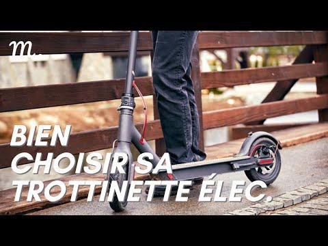 TROTTINETTE ÉLECTRIQUE : Bien Choisir en 2021 🛴 (Guide d'Achat Patinette Élec. en 60s.) | Maisonae