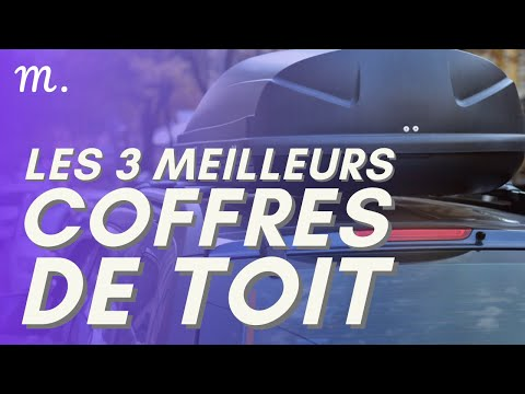🥇TOP 3 COFFRES DE TOIT (2021)