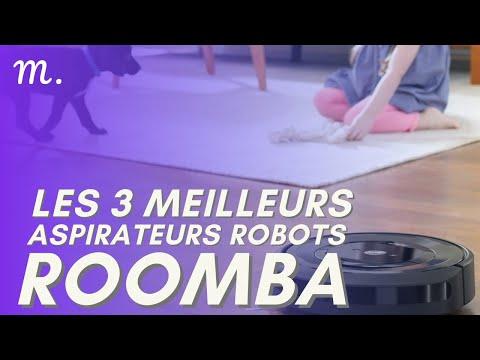 🥇TOP 3 ASPIRATEURS ROBOTS ROOMBA (2021)
