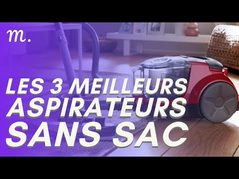 🥇TOP 3 ASPIRATEURS SANS SAC (2021)