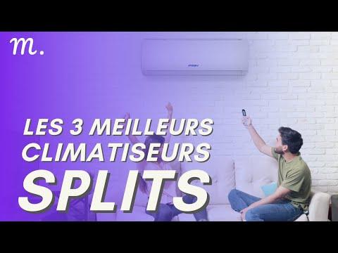 🥇TOP 3 CLIMATISEURS SPLITS (2021)