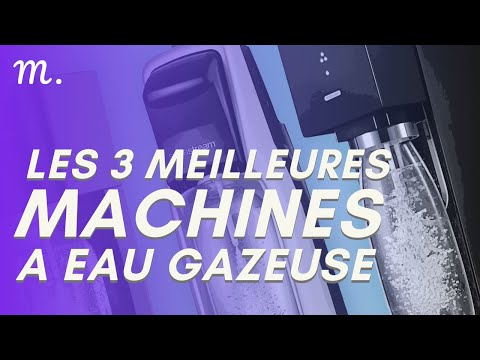 🥇TOP 3 MACHINE A EAU GAZEUSE (2021)