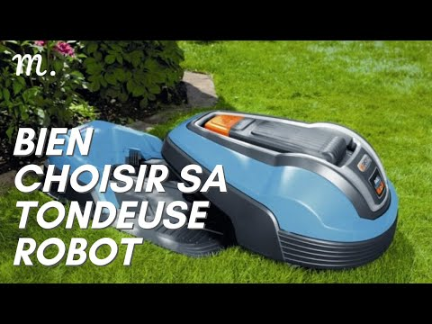 TONDEUSE ROBOT : Bien Choisir en 2021 🤖 (Guide d'Achat Tondeuse Autonome en 60s.) | Maisonae